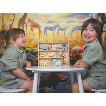 Load image into Gallery viewer, Animals | Wooden Imaginative Play Toy | Lifestyle – 2 Girls Playing | BeoVERDE.ie