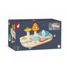 Load image into Gallery viewer, Janod Pure Musical Table | Wooden Toddler Activity Toy | Packaging | BeoVERDE.ie