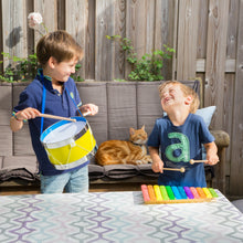 Load image into Gallery viewer, New Classic Toys Rainbow Xylophone | Musical Toy | Wooden Toddler Activity Toy | Lifestyle – Two Boys Playing | BeoVERDE.ie