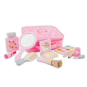 New Classic Toys Make Up Set | Wooden Pretend Play Toy | Front View 2 | BeoVERDE.ie