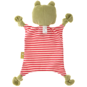 Sigikid Organic Frog Comforter | Baby's First Toy | Back Standing | BeoVERDE.ie