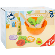 Load image into Gallery viewer, Small Foot Salad Play Set | Gorgeous Pretend Play Toys | Packaging | BeoVERDE.ie