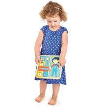 Load image into Gallery viewer, Tender Leaf Ouch Puzzle | Hand-Crafted Wooden Educational Toy | Girl Playing | BeoVERDE.ie