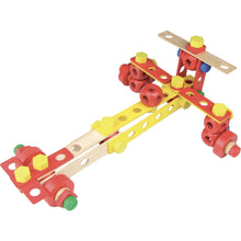 Load image into Gallery viewer, Vilac Wooden Construction Building Set 'Batibloc' | Educational Wooden Toy | Race Car | BeoVERDE.ie