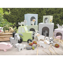 Load image into Gallery viewer, JaBaDaBaDo Farm Tractor | Wooden Imaginative Play Toy | Closeup Farmyard | BeoVERDE.ie