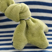 Load image into Gallery viewer, Sigikid Organic Frog Comforter | Baby's First Toy | Closeup 2 | BeoVERDE.ie