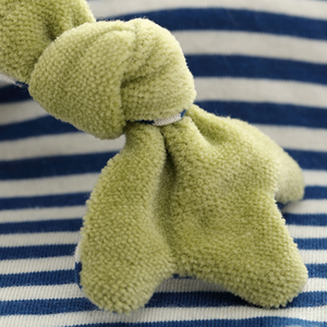 Sigikid Organic Frog Comforter | Baby's First Toy | Closeup 2 | BeoVERDE.ie