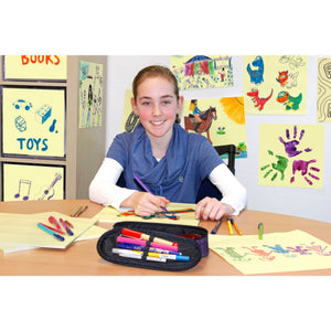 Giant Square Sticky-Note | Girl Drawing on Sticky-Note | BeoVERDE.ie