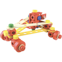 Load image into Gallery viewer, Vilac Wooden Construction Building Set 'Batibloc' | Educational Wooden Toy | Car | BeoVERDE.ie