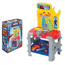 Load image into Gallery viewer, Dede Toy Spider man Power Repair Game Set With Bench