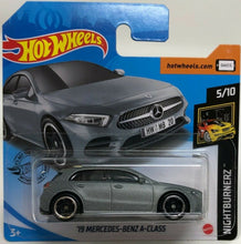 Load image into Gallery viewer, Hot Wheels Die-Cast `19 Mercedes-Benz A-Class