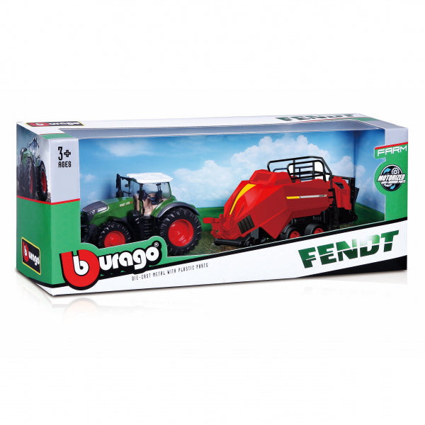 Bbuargo Farm tractor with baler Lifter,