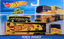 "Load image into Gallery viewer, HOT WHEELS 50th ""PENCIL PUSHER"" SCHOOL BUS CITY DXB40 toy vehicle"