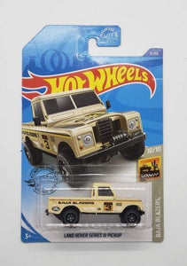 Hot Wheels Diecast Land Rover Series lll Pickup