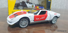 Load image into Gallery viewer, Metal Body Dubai Police car, Scale 1:32