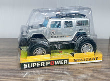 Load image into Gallery viewer, UN Militray Super Power Jeep