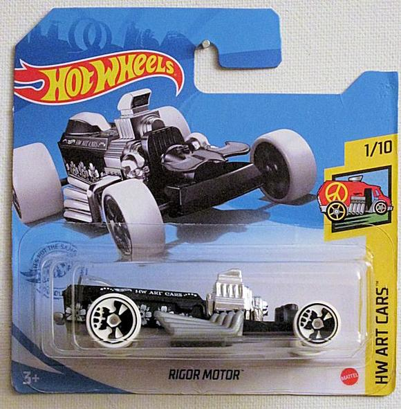 Hot Wheels Rigor Motor Scale 1/64