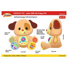 Load image into Gallery viewer, Winfun Puppy Pal Learn with Me