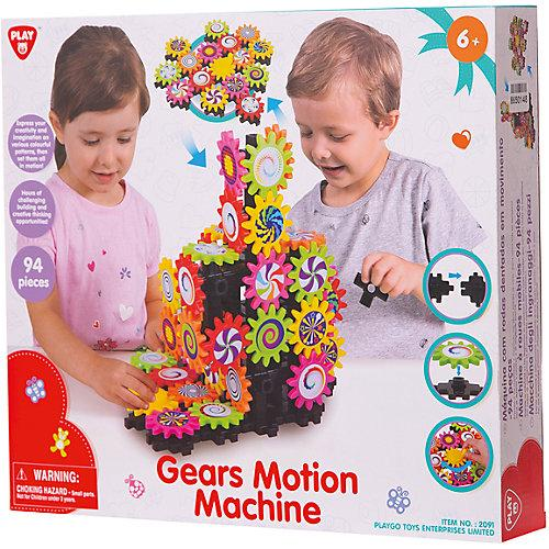 Play go  Gear Motion Machine for Kids to Boast Creative Skills - 94 Pieces