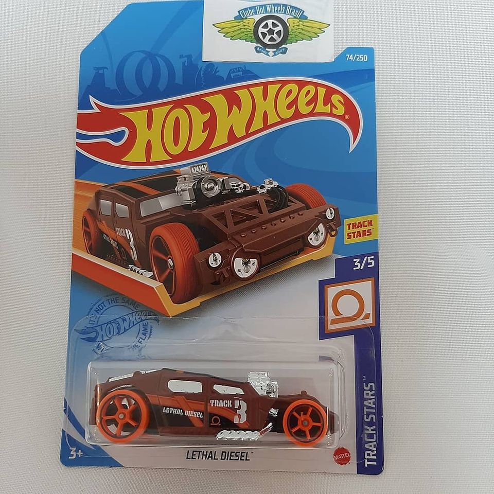 Hot Wheels Die-Cast Lethal Diesel