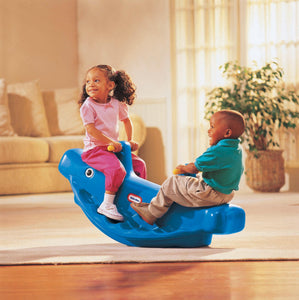Little Tikes Whale Teeter Totter - Blue