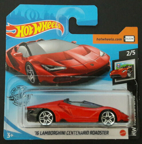 Hot Wheels Die-Cast `16 Lamborghini Centenario Roadster