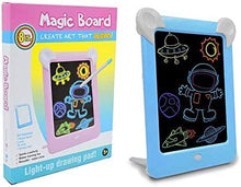Load image into Gallery viewer, 3D Magic Drawing Board With Light For Kids
