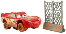 Load image into Gallery viewer, Disney Pixar Cars 3 Crazy 8 Crashers 1:55 Scale Vehicle - Lightning DYB13