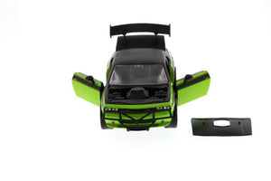Jada Fast & Furious Letty's 2011 Dodge Challenger SRT8 Hard Top, Green with Black