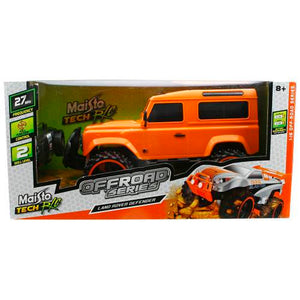 Remote Control Road Land Rover Defender Orange