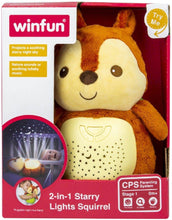 Load image into Gallery viewer, Winfun 2-In-1 Starry Light Squirrel
