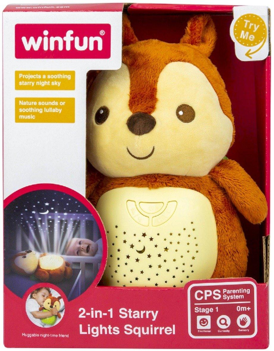 Winfun 2-In-1 Starry Light Squirrel