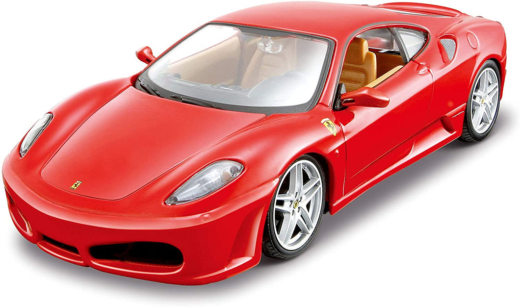 Maisto – Ferrari Assemby Line Kit Model Car 1: 24 Scale, Assorted