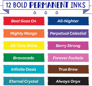 Crayola 586539 Take Note Permanent Markers (12 Piece)