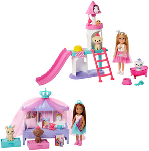 Barbie Princess Doll and Princess Chelsea Playset