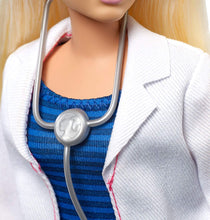 Load image into Gallery viewer, Barbie FXP00 Doctor Doll with Stethoscope