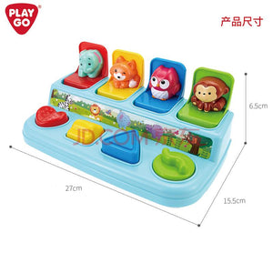 PlayGo Pop & Surprise Activities Toy for Toddlers