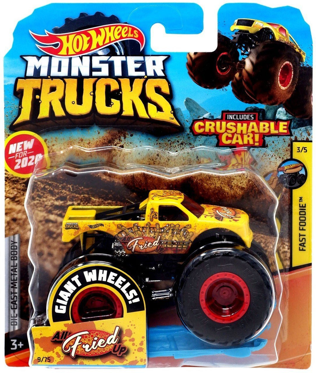 Hot Wheels: MONSTER TRUCKS Die-Cast