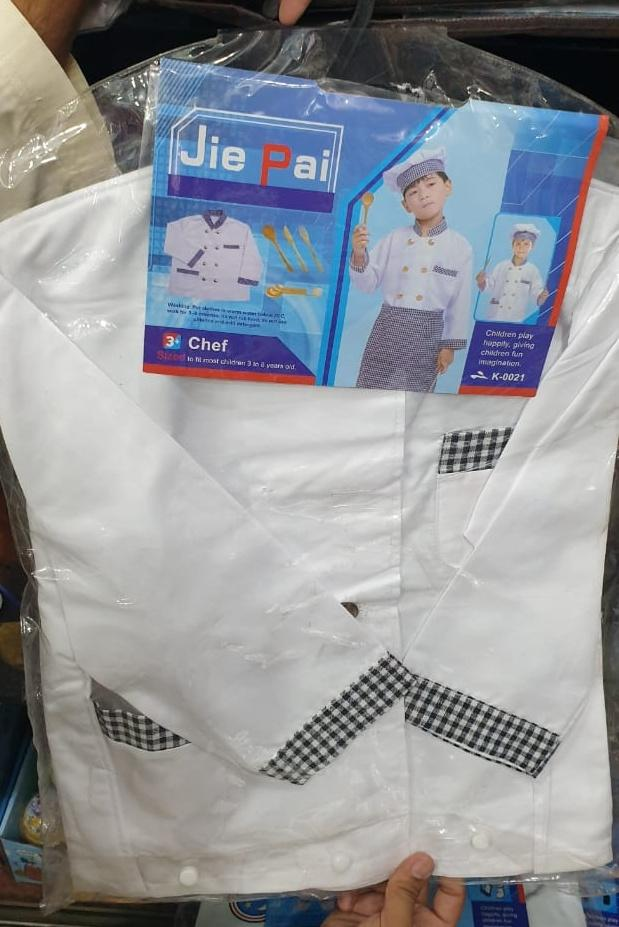 Amazing Chef costume for kids
