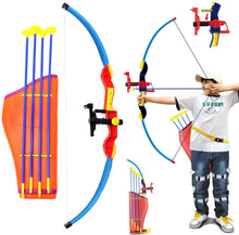 Load image into Gallery viewer, Archery Toy Bow with Infrared, Quiver And Arrows Set For Kids
