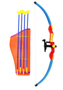 Archery Toy Bow with Infrared, Quiver And Arrows Set For Kids