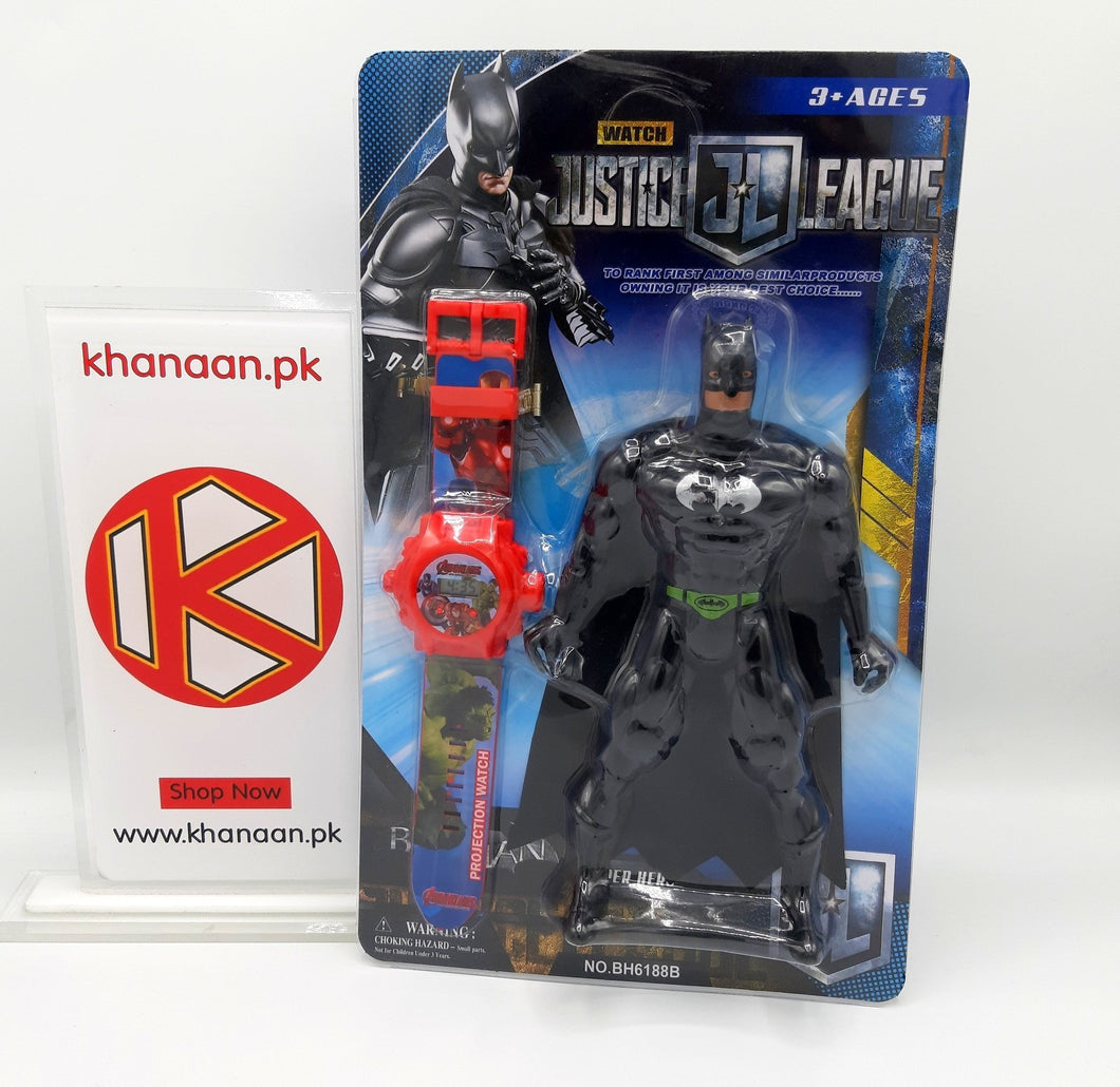 Batman Justice league Figure with Projector Watch