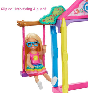 Barbie Club Chelsea Swing and Push Playset from Khanaan