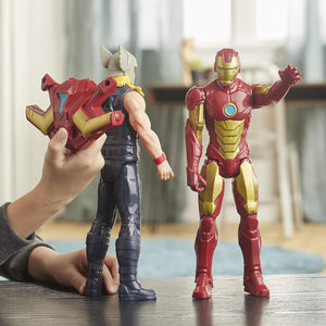 Best Hero Figure for 4+ Hasbro's Avengers Iron Man | Marvel Titan Hero