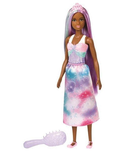 Barbie FXR93 -Barbie Dreamtopia Purple & Blue Hair Doll Minimum