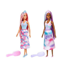 Load image into Gallery viewer, Barbie FXR93 -Barbie Dreamtopia Purple & Blue Hair Doll Minimum