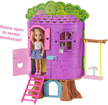 Load image into Gallery viewer, Buy FPF83 Barbie FAMILY Chelsea Treehouse Playset Portable Online