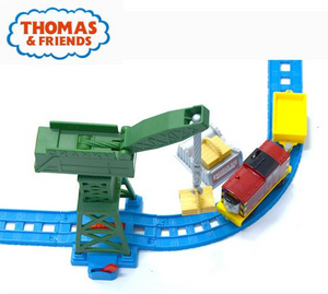 Buy Thomas and Friends Motorolarized Railway Day The Docks Deluxe Set