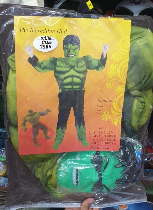 Boys Incredible Hulk Costume