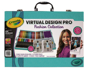 Genuine Crayola Virtual Design Pro Fashion Collection for Baby Girls